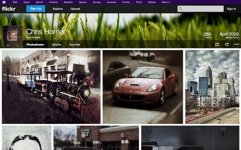 Screenshot of Flickr Page flickr.com - Flickr: Lens Artwork's Photostream - captured Oct. 22, 2014