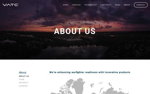 Screenshot of About Page vatcinc.com - What We Do | VATC - captured May 17, 2019
