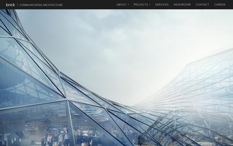 Screenshot of Home Page brickvisual.com - Brick Visual - High-End Architectural Visualization Solutions - captured Aug. 3, 2018