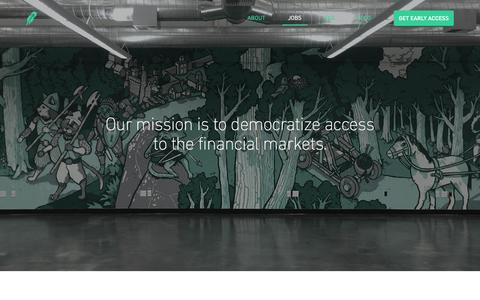 Screenshot of Jobs Page robinhood.com - Robinhood - Jobs - captured Dec. 16, 2014
