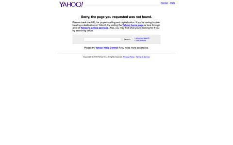 Screenshot of Home Page aol-careers.com - Yahoo! - captured June 14, 2018