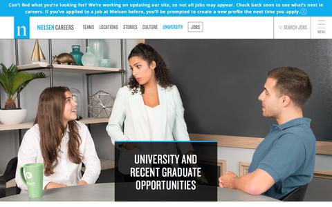 University | Nielsen Careers