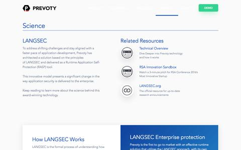 LANGSEC | Science | Prevoty Runtime Application Security