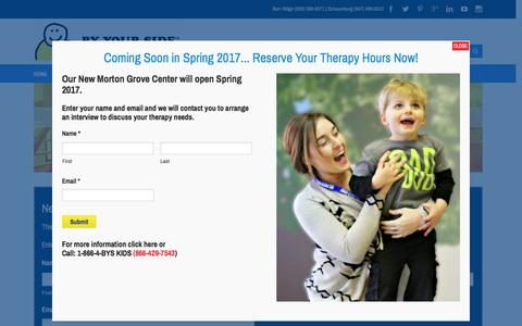 Screenshot of Locations Page byyoursideac.com - Our Mission | BY YOUR SIDE - Autism Therapy Services (BYS) - captured Nov. 22, 2016