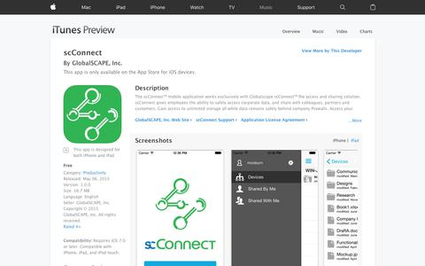 scConnect on the App Store