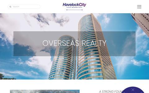 Screenshot of Developers Page havelockcity.lk - Developer   Havelock City - captured Oct. 26, 2018