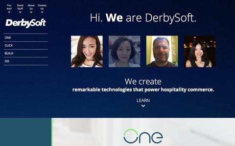 DerbySoft Hotel Marketing, Connectivity & Data Distribution Software