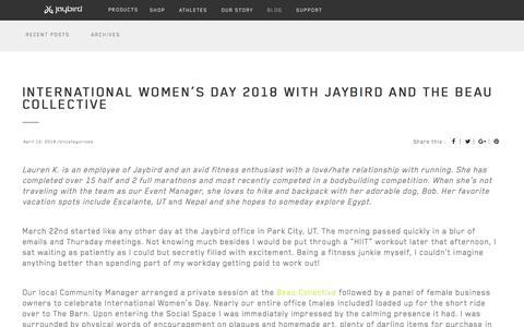 Jaybird Blog - #poweryourpassion