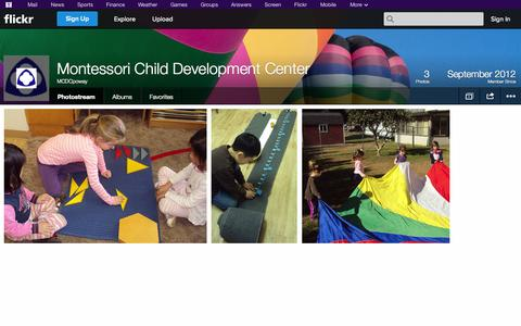 Screenshot of Flickr Page flickr.com - Flickr: MCDCpoway's Photostream - captured Oct. 26, 2014