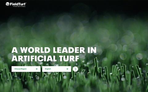 Screenshot of Press Page fieldturf.com - Articles - FieldTurf - captured Oct. 10, 2018