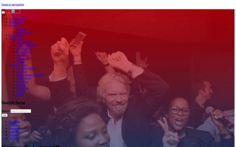 Screenshot of Jobs Page virgin.com - Careers | Virgin - captured May 17, 2018