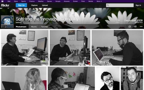 Screenshot of Flickr Page flickr.com - Flickr: SoftHrod's Photostream - captured Oct. 26, 2014