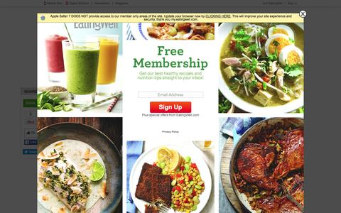Screenshot of Contact Page eatingwell.com - Contact Us - EatingWell - captured July 3, 2016