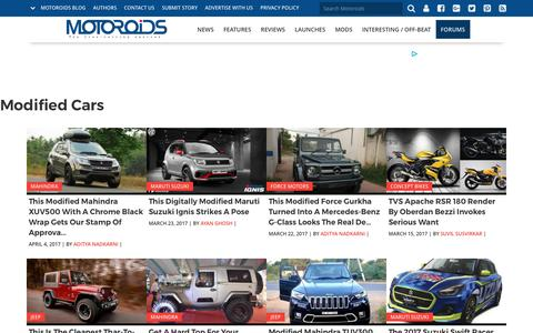 Modified Cars | Motoroids