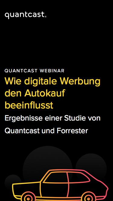 Quantcast Webinar | Wie digitale Werbung den Autokauf beeinflusst