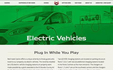 Screenshot of redhawkcasino.com - RedHawk | Electric Vehicles - captured June 28, 2016