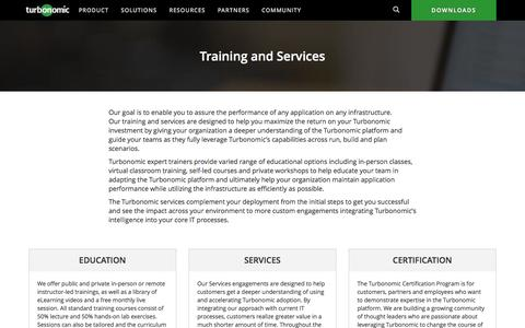 Turbonomic Training & Services