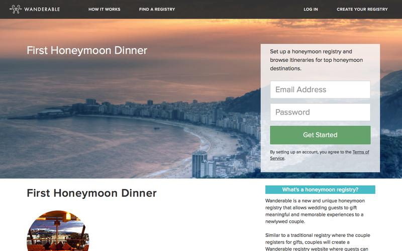 First Honeymoon Dinner |  | Wanderable