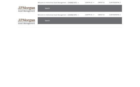 title -   J.P. Morgan Institutional Asset Management