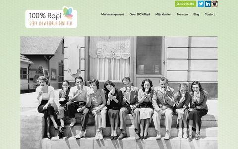 Homepage - 100 % Rapi