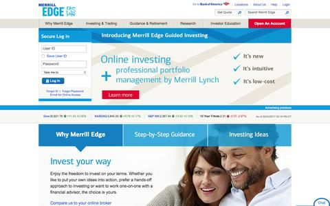 Merrill Edge - Online Investing, Trading, Brokerage and Advice