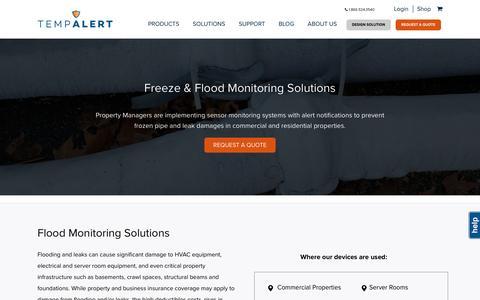 Freeze & Flood Monitoring | TempAlert
