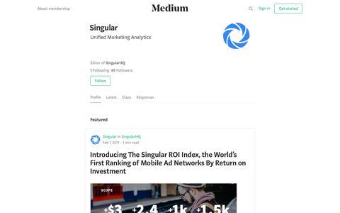 Singular – Medium