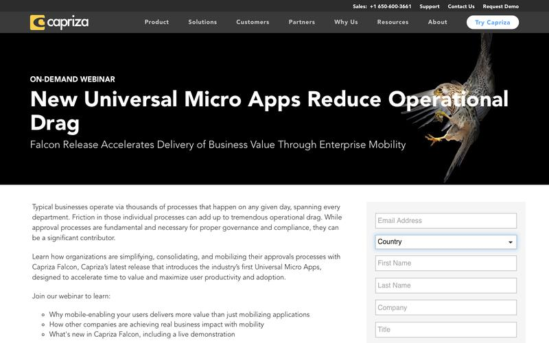 New Universal Micro Apps Reduce Operational Drag