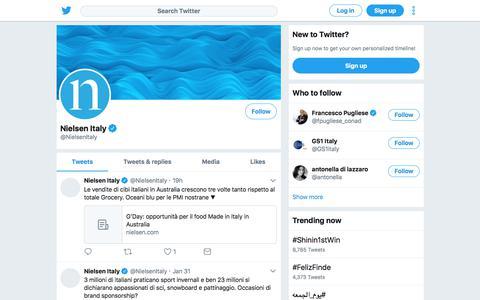 Tweets by Nielsen Italy (@NielsenItaly) – Twitter