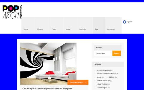 Screenshot of Blog poparchstudio.com - Poparch Studio |   Blog - captured Sept. 30, 2014