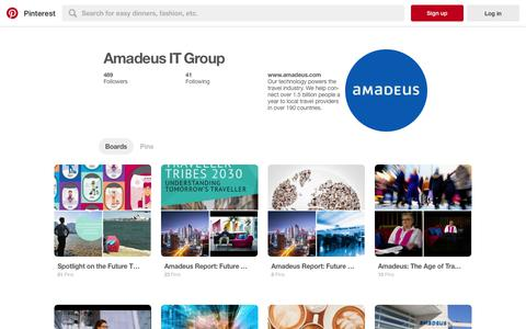 Amadeus IT Group (amadeusitgroup) on Pinterest