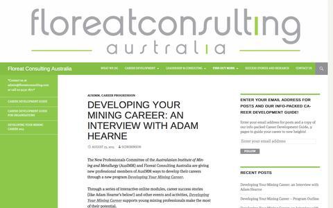 Screenshot of Blog floreatconsultingaustralia.com.au - Blog | Floreat Consulting Australia | *Contact us at admin@floreatconsulting.com or call 02 9432 7877* - captured Aug. 4, 2016