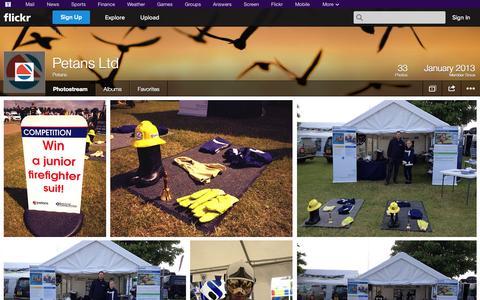 Screenshot of Flickr Page flickr.com - Flickr: Petans' Photostream - captured Oct. 22, 2014