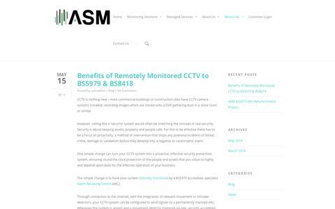 Screenshot of Press Page asmuk.net - Advanced Signal Monitoring - captured Oct. 4, 2014