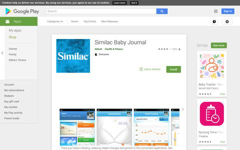 Similac Baby Journal - Apps on Google Play