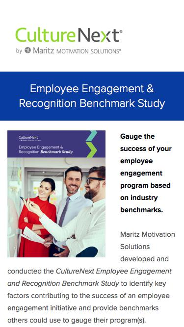 Employee Engagement and Recognition Benchmark Study