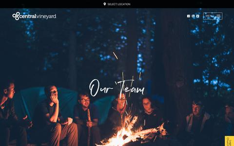 Screenshot of Team Page centralvineyard.co.uk - Our Team - Central Vineyard - captured Sept. 27, 2018