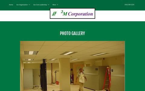 Screenshot of Case Studies Page 2mcorporation.com - Case Studies | 2M Corporation - captured Sept. 21, 2018