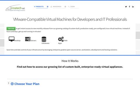 Screenshot of Signup Page annatech.com - Get Started With Virtual Appliances - Annatech | Development and IT Consulting - captured Feb. 6, 2016