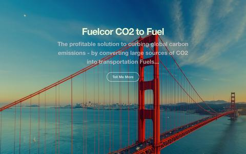 Screenshot of Home Page fuelcor.com - Fuelcor » Home » Just another Hokenson Media site - captured Sept. 11, 2015