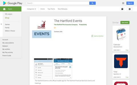 The Hartford Events - Apps on Google Play