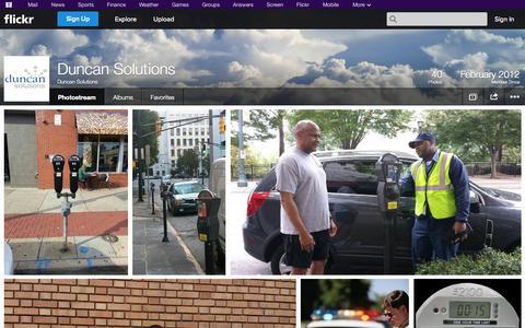 Screenshot of Flickr Page flickr.com - Flickr: Duncan Solutions' Photostream - captured Oct. 22, 2014