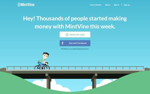 Home | MintVine