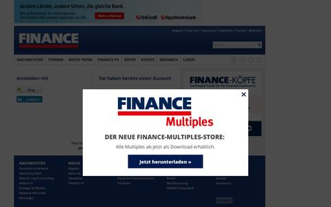 Login-FINANCE Magazin