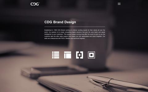 Screenshot of About Page cdgbrand.com - CDG Brand Design Dublin Digital Branding Strategy Web Ireland - captured Jan. 22, 2016