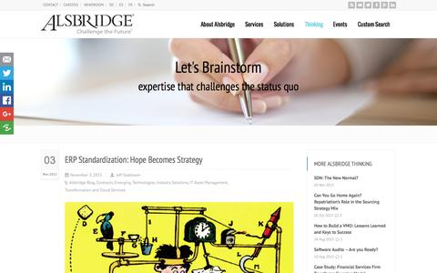 Screenshot of Blog alsbridge.com - Alsbridge Blog - captured Nov. 5, 2015