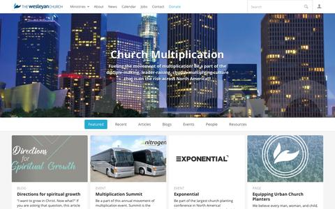 Church Multiplication | The Wesleyan Church