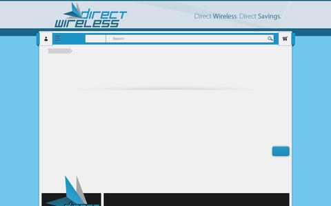 Screenshot of Terms Page directwireless.com - Terms & Conditions - captured Sept. 30, 2014