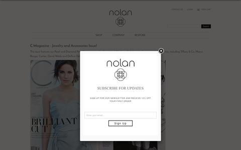 Screenshot of Press Page stacynolan.com - Press   Stacy Nolan - captured Feb. 15, 2016