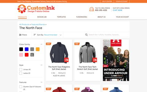 Custom The North Face - Design Your Own at CustomInk.com